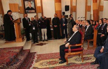 رئیس جمهور لبنان دیداری بسیار مهم از عراق به عمل آورد