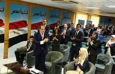 السیسی در پی کسب 97 درصد آراء دور دوم ریاست جمهوری خود را در مصر آغاز کرد