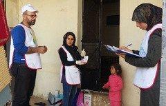 کارزار واکیسناسیون برای مقابله با بیماری سرخک در لبنان