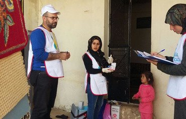 Lebanon conducts measles vaccination drive