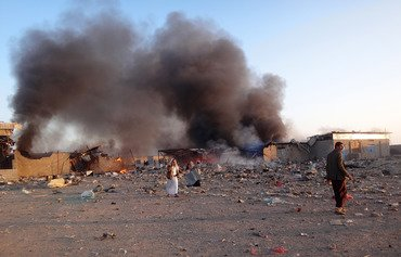 التحالف العربي يقتل خبراء صواريخ أجانب في اليمن