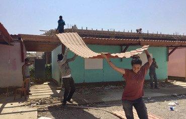 مدارس سیار درخدمت دانش آموزان سوری در لبنان