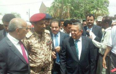 انطلاق عملية اعادة إعمار محافظة أبين في اليمن