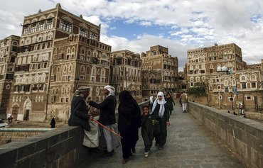 Houthis deface Old Sanaa's historic buildings