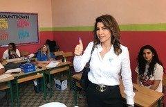 یک مجری تلویزیون لبنان به نمایندگی پارلمان برگزیده شد