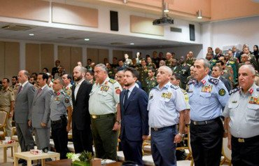 اولین دانش آموختگان رشته راهبردهای مبارزه با تروریسم در اردن فارغ التحصیل شدند
