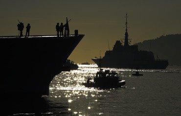 نیروی دریایی فرانسه در برقراری امنیت آبهای خلیج نقش کلیدی بازی می کند