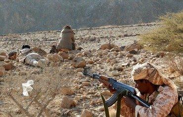 القاعدة وداعش يشتبكان في محافظة البيضاء في اليمن