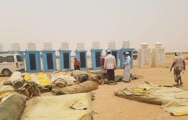 Les pèlerins yéménites arrivent en Arabie saoudite