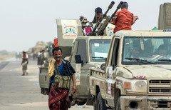 القوات المشتركة تحاصر مديرية الدريهمي اليمنية