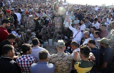 تعدادی از سربازان اردنی و ستیزه جویان در یورش سلط کشته شدند