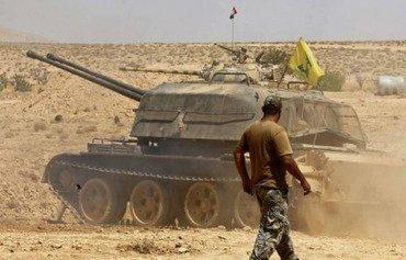 اشتباكات بين قوات حزب الله والنظام السوري في دير الزور