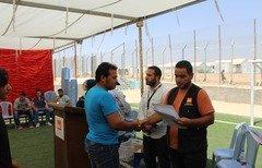 تخريج 2000 لاجئ سوري في الأردن ببرنامج دولي للحاسب الآلي