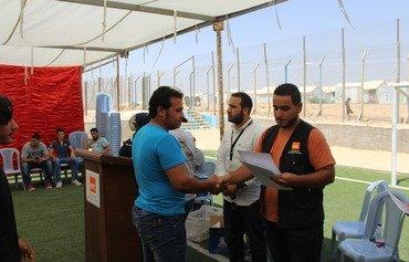 2000 پناهنده سوری در اردن از برنامه کامپیوتر بین المللی فارغ التحصیل شدند
