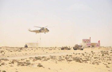 مناورات النجم الساطع 2018 تعزز العلاقات الأميركية-المصرية