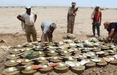 نیروهای زبده حضرموت مخفیگاه مواد منفجره القاعده را کشف کردند