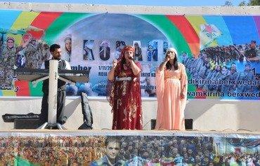 كوباني تحتفل باليوم الدولي لتكريم المقاومة ضد داعش
