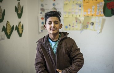Literacy classes bring hope to Syrian children in Lebanon