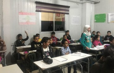 Syrian children thrive in Lebanon's public schools