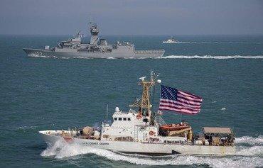 القوات البحرية الأميركية والمشتركة تحافظ على الأمن الإقليمي