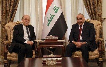 مسؤولون: فرنسا ملتزمة بشراكتها مع العراق