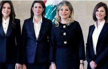 وزيرات لبنان متحمسات لمواجهة التحديات