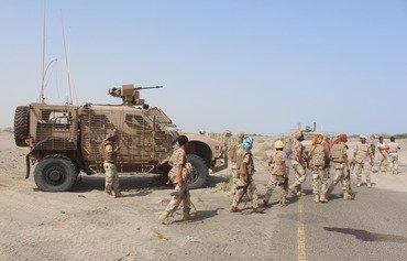 القوات الأمنية اليمنية ترد على هجوم القاعدة في أبين