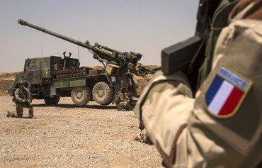 القوات الفرنسية تدعم الاستقرار في الشرق الأوسط