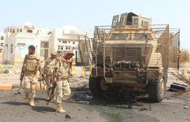 القوات اليمنية تسيطر على معسكر تدريب للقاعدة