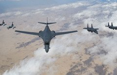 القوات الأميركية والقطرية تختتم مناورة دفاعية مشتركة