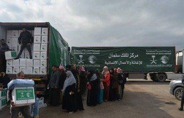 امارات متحده عربی و عریستان سعودی در لبنان کمکهای زمستانی توزیع کردند