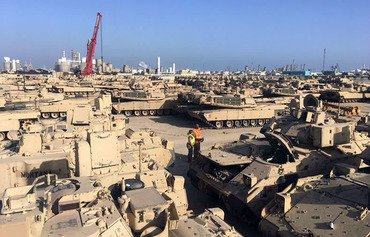 القوات الأميركية في الكويت تعزز القدرات بمعدات جديدة
