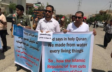 Iran dam construction reduces Iraq water supply