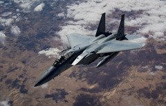 US deploys F-15C Eagles to support ISIS fight