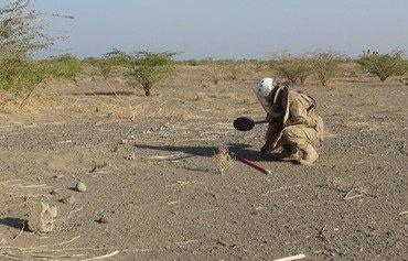 Les forces de la Ceinture de sécurité d'Abyan désamorcent des EEI d'al-Qaïda