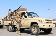 القوات الأمنية في أبين ترصد تحركات القاعدة