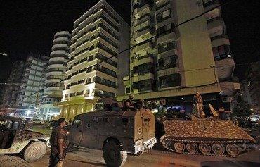 Lone attacker kills four in Lebanon's Tripoli