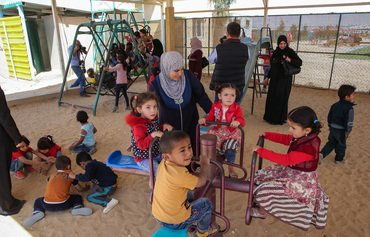 Syrian refugees in Jordan bemoan child programme cuts