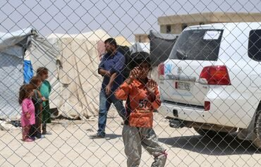 Syria's al-Hol camp 'difficult place for children'