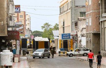 مهاجمان عدن نیروهای کمربند امنیتی را هدف قرار دادند