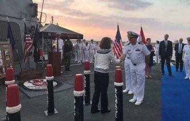 زيارة يو.أس.أس راماج تؤكد على الشراكة الأميركية اللبنانية