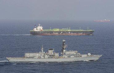 البحرية البريطانية تؤمن مرور 7 ملايين طن من الشحنات عبر مضيق هرمز