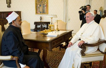 Pope, Grand Imam meeting a message against terrorism: clerics