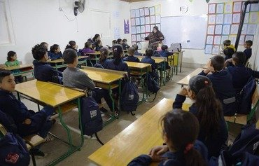 Kayany opens new school for Syrian refugees in Bekaa