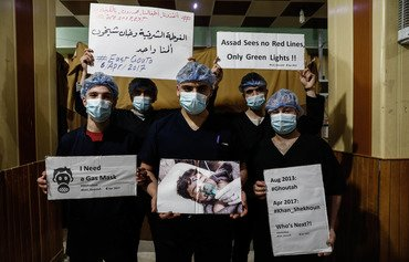 Syria chemical attack survivors welcome US strike