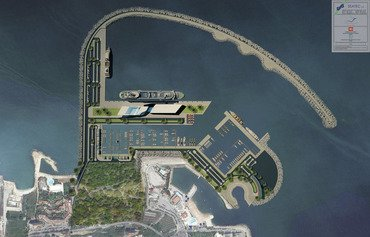 Construction begins on new Lebanese port
