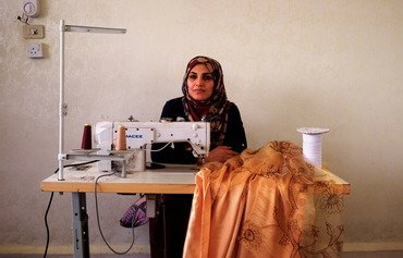Upcycling project helps Syrian refugees earn money in Jordan