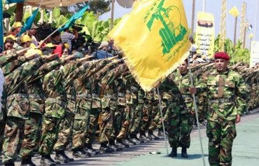 Lebanese activists rally against Hizbullah