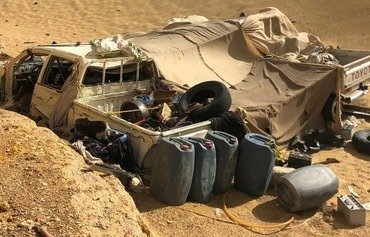 Egyptian forces bust terror cell in Western Desert