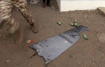 Arab coalition strikes at Houthis' drone capabilities